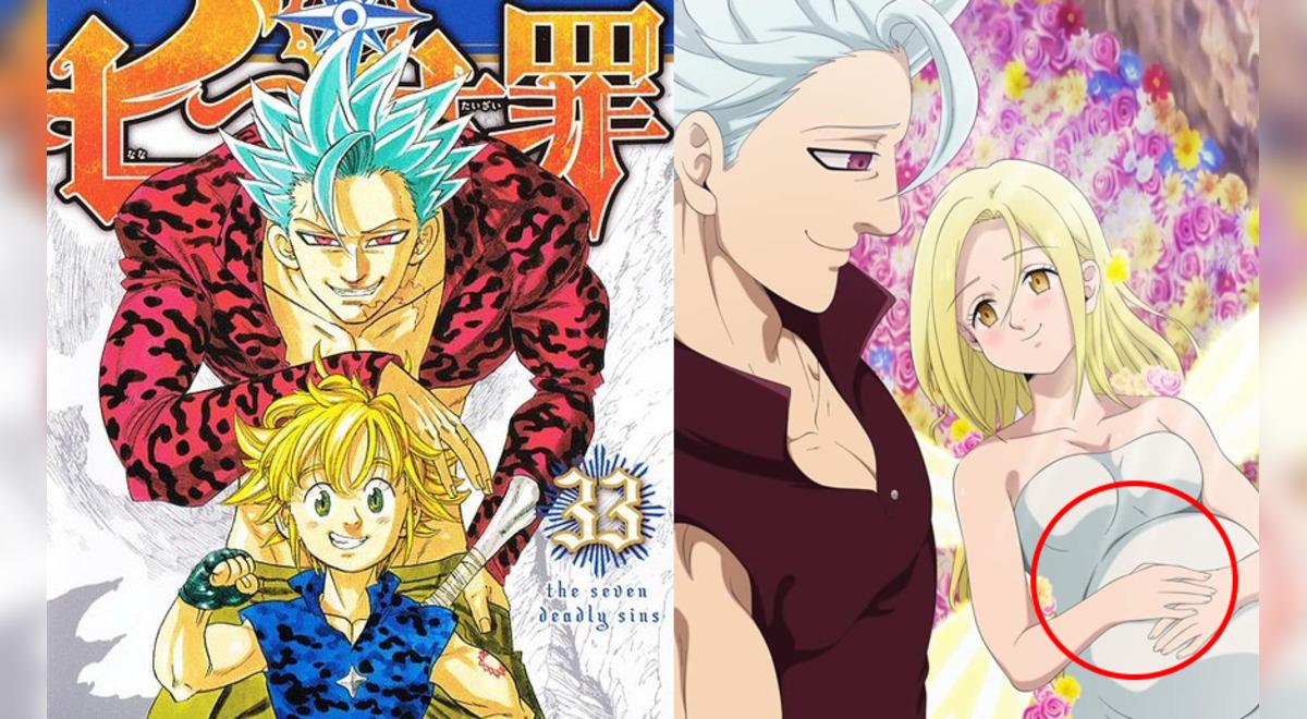 Nanatsu no Taizai nuevo manga secuela hijo de Ban Elaine ...