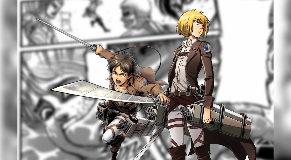Shingeki no Kyojin spoilers 135 manga Armin | Aweita La ...