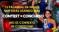 15 palabras en inglés que los hispanohablantes confundimos todo el tiempo