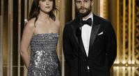 A un mes del estreno de 50 Sombras de Grey se transmite el tráiler para TV en los Golden Globes.