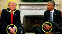 Trump y Obama se reunieron y esto fue lo que reveló su lenguaje corporal