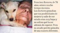Anciana estuvo en coma por 1 mes, al despertar dijo una frase que enmudeció a todos