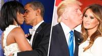 En el amor no se puede fingir, un versus entre los Obama y los Trump