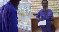 Se burlaron de él por mirar joyas siendo un barrendero, pero su foto logró cambiarle la vida