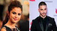 """La verdad detras del """"coqueto"""" saludo entre Selena Gómez y Maluma"""
