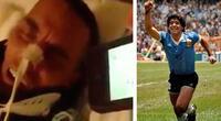 Viral: Él estaba en estado vegetal y al escuchar un gol de Maradona reaccionó así