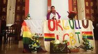 Facebook: Conoce por qué un cura mexicano ofició misa con bandera LGBT