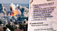 ¿La Biblia predijo todo lo que está pasando en Siria? Así lo explican los expertos