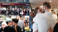 Echaron a una pareja gay por besarse en una tienda, 30 personas se vengaron así