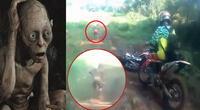 Extraño ser es registrado en medio de la selva de Indonesia