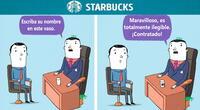 Caricaturista ilustra cómo serían las entrevistas de trabajo en las principales empresas del mundo