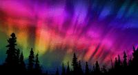Te presentamos fantásticas imágenes de una aurora boreal captada por primera vez en resolución 4K.