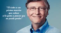 El millonario y exitoso Bill Gates.