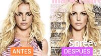 Britney es un claro ejemplo en las portadas de muchas revistas.