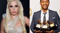 Lady Gaga y John Legend.