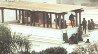 Momento del operativo Chavín de Huantar.