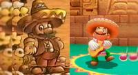 ¿Por que Super Mario aparece como mariachi?