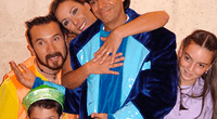 Los personajes de la Familia P.Luche en sus inicios.
