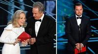 La teoría que acusa a Leonardo DiCaprio del error en los Oscar 2017