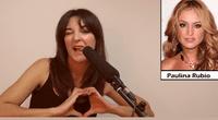"""Leonor Lavado en su imitación a """"La Pau"""""""