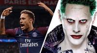 Neymar demostró que tiene mucho gusto por el personaje con su gran caracterización.