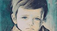 Los cuadros de los niños llorones fueron pintados por Bruno Amadio