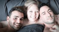 Los tres han formado una sólida relación y no temen en exhibirla.