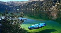Solo una persona ha logrado sumergirse en este mítico lago.