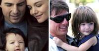 La famosa pareja se divorció en el 2012, hecho que afectó mucho a la pequeña Suri.