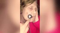 Su reacción se convirtió en viral.