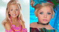 La dura realidad de niñas modelos.