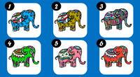 Elige un elefante y te diré cómo eres