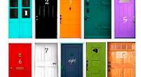 ¿Cuál de las diez puertas elegirías?