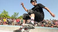 Tony Hawk es el skater más famoso del mundo. Protagonizó una importante saga de videojuegos en la que también participaron otros skaters.
