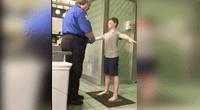 La madre del menor subió el video a YouTube para denunciar el hecho