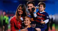 Messi tuvo que dejar sus compromisos con el Barcelona por la llegada de su hijo Ciro