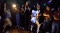 El joven nunca imaginó lo que sucedería en pleno sexy baile