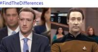 Zuckerberg no podía salvarse de los memes.