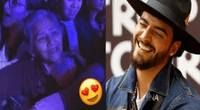 Maluma no dudó en agradecer a la 'abuelita' fanática.