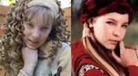 La cantante compartió una foto donde aparece con el look de los dos personajes que interpretó
