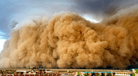 El fenómeno es común en el desierto del Sahara.