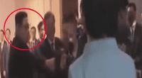 Kim Jong-un protagonizó incómodo momento.