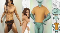 Famoso cosplayer se transforma en cualquier dibujo animado.