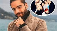 """Maluma también es popular en Asia por su canción """"Felices los 4""""."""