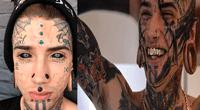 Ethan Bramble tiene 21 años y, a sus 21 años, ya tiene 40 cirugías y 150 tatuajes en todo el cuerpo