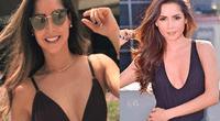 Carmen Villalobos apareció en sexy tanga dorada y remeció Instagram