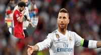 Sergio Ramos nuevamente fue criticado.