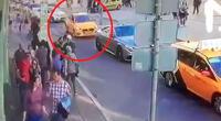 Dejó al menos 8 heridos y se da a la fuga, pero los transeúntes hicieron justicia.