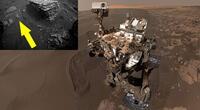 El robot de la NASA captó raros movimientos en tierras marcianas.