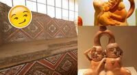 Los huacos son representativos de la Cultura Moche.